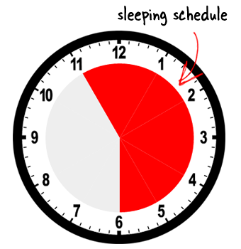 sleeping schedule